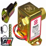 Facet Solid State Cube Fuel Pump Kit 7.0 - 10 Psi With 8mm Unions & Fuel Filter